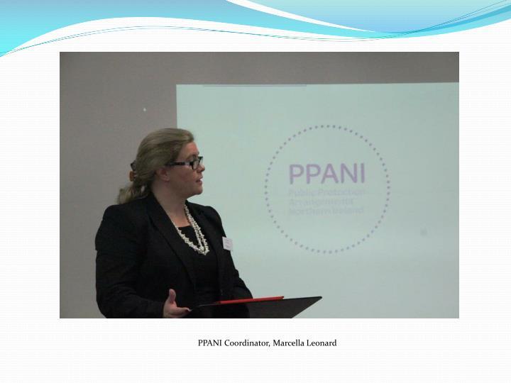 PPANI Coordinator, Marcella Leonard