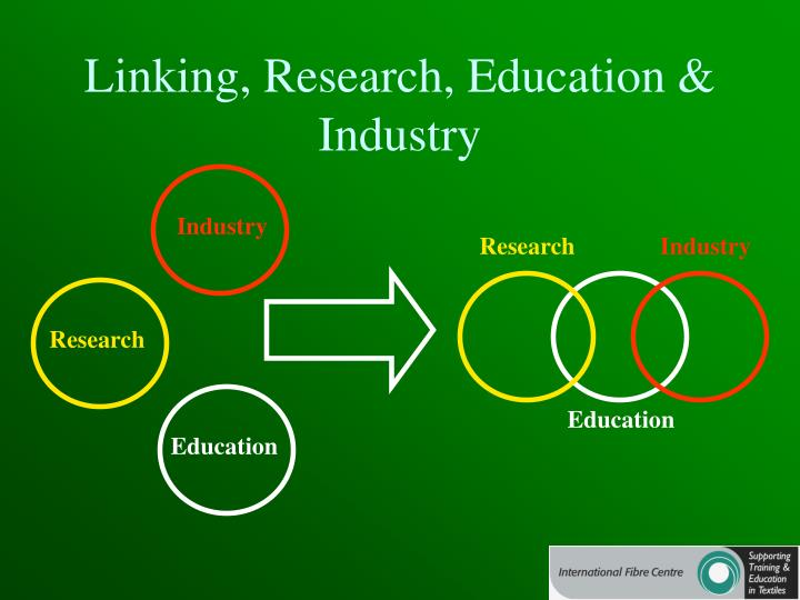 Linking, Research, Education & Industry
