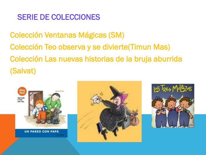 Serie de colecciones