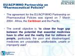 eu acp who partnership on pharmaceutical policies