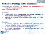 medicines strategy in the caribbean1