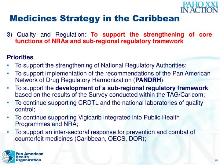 Medicines Strategy in the Caribbean