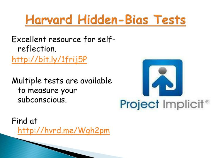 Harvard Hidden-Bias Tests