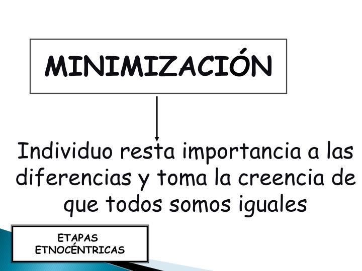 MINIMIZACI