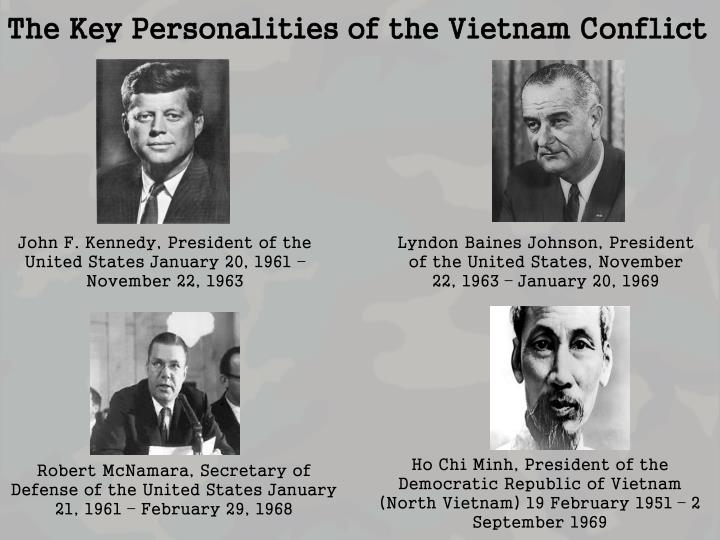 The Key Personalities of the Vietnam Conflict