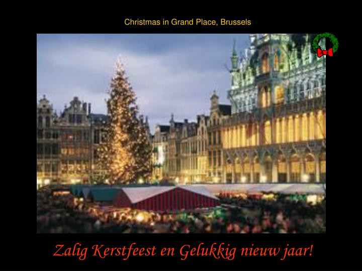 Christmas in Grand Place, Brussels