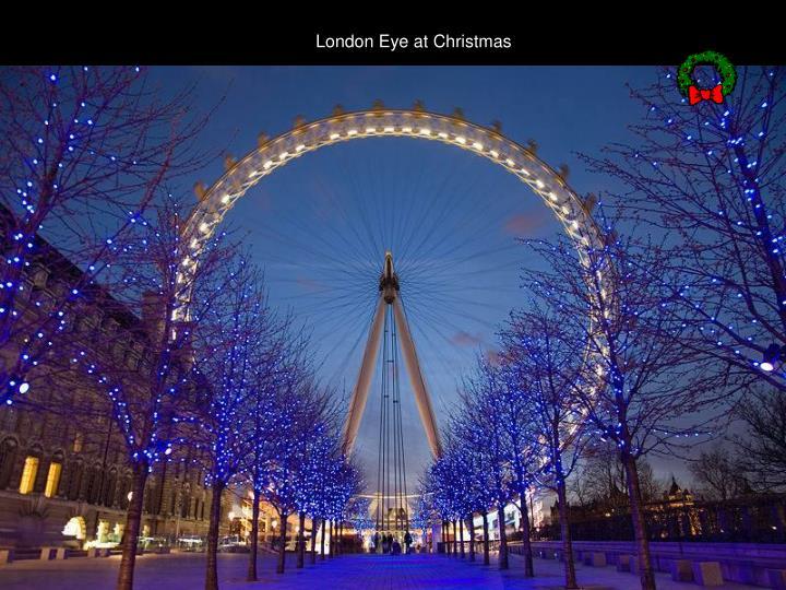 London Eye at Christmas