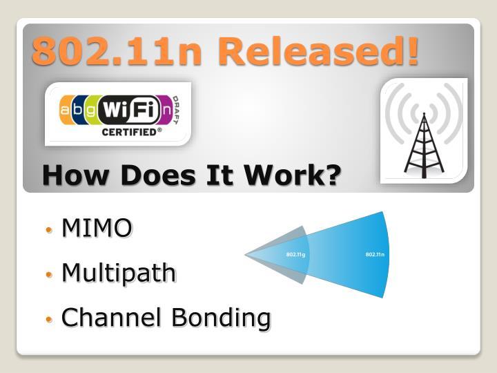 802.11n Released!