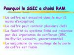 pourquoi le ssic a choisi ram1