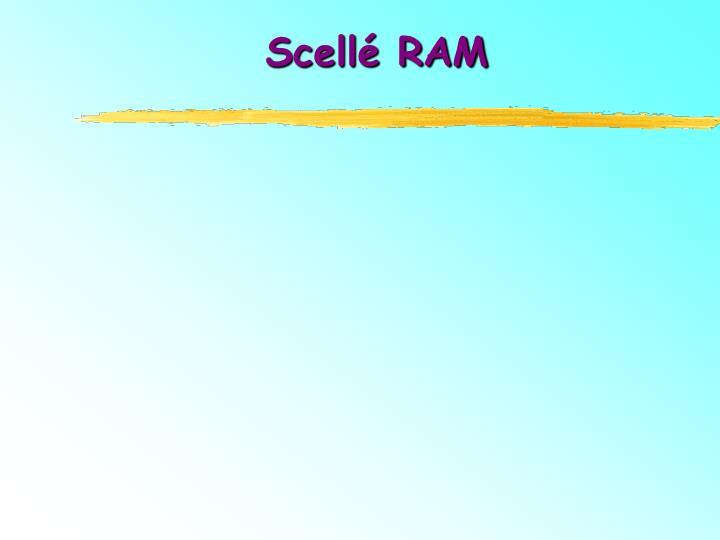 Scellé RAM