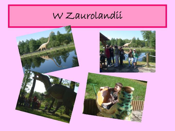 W Zaurolandii