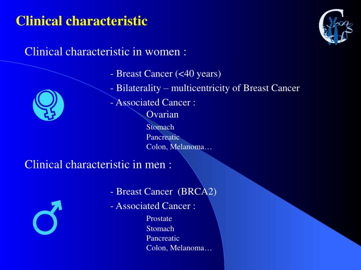 Clinical characteristic