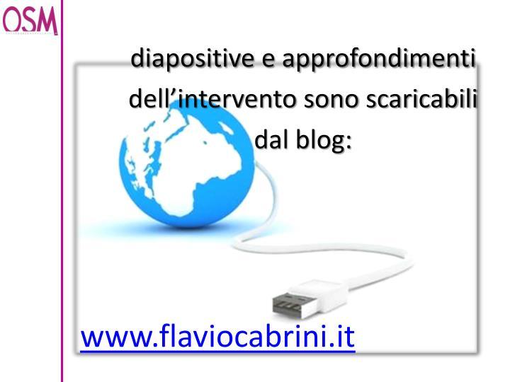 diapositive e approfondimenti