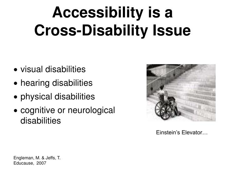 Accessibility is a