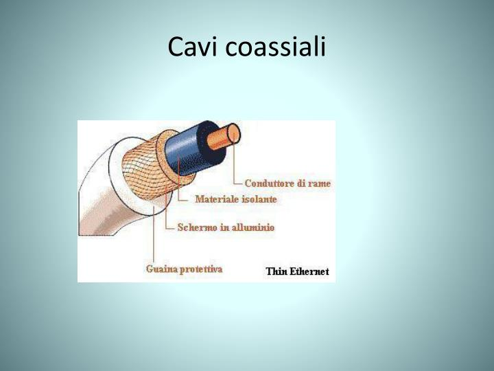 Cavi coassiali