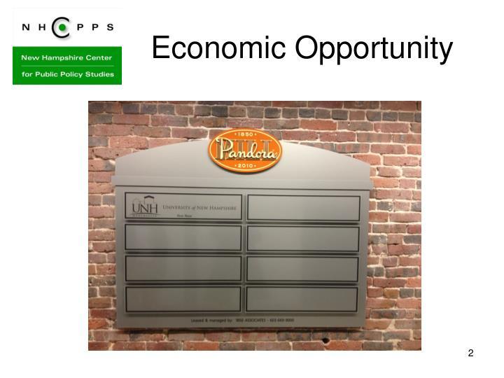 Economic Opportunity