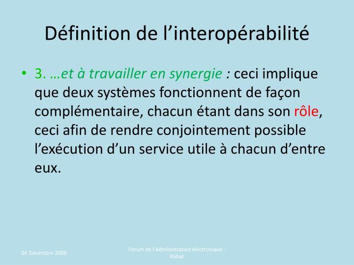 Ppt de l interop rabilit pour une administration for Architecture modulaire definition