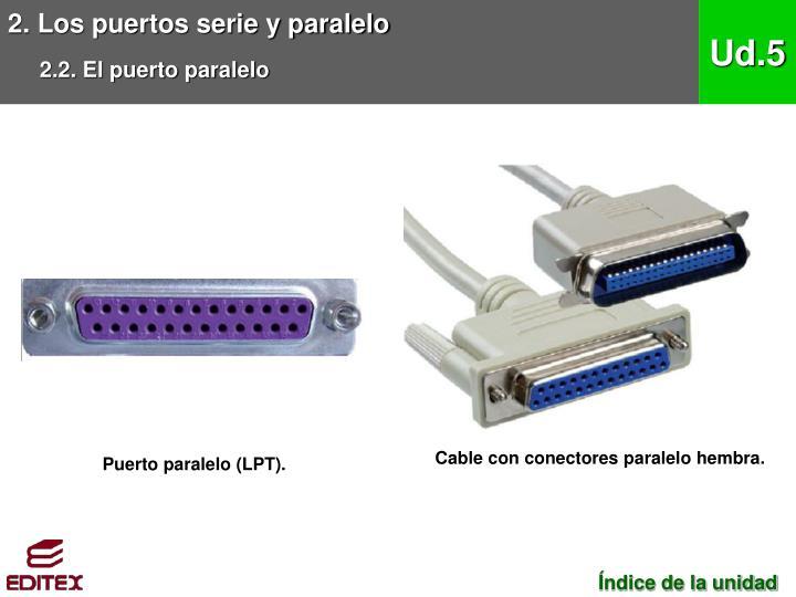 2. Los puertos serie y paralelo