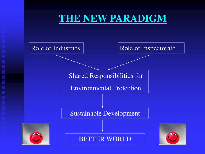 THE NEW PARADIGM