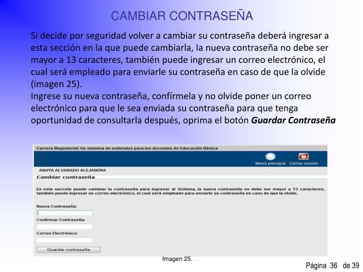 CAMBIAR CONTRASEÑA
