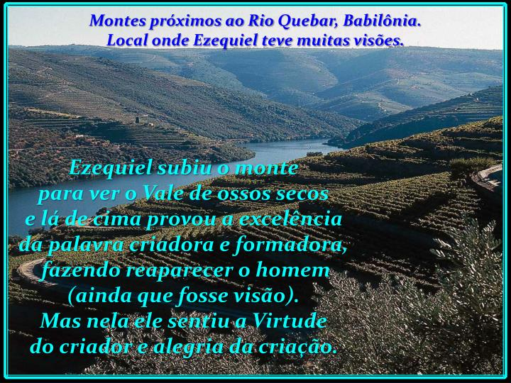 Montes próximos ao Rio