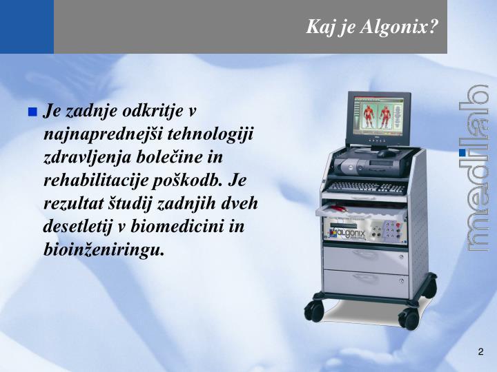 Kaj je Algonix