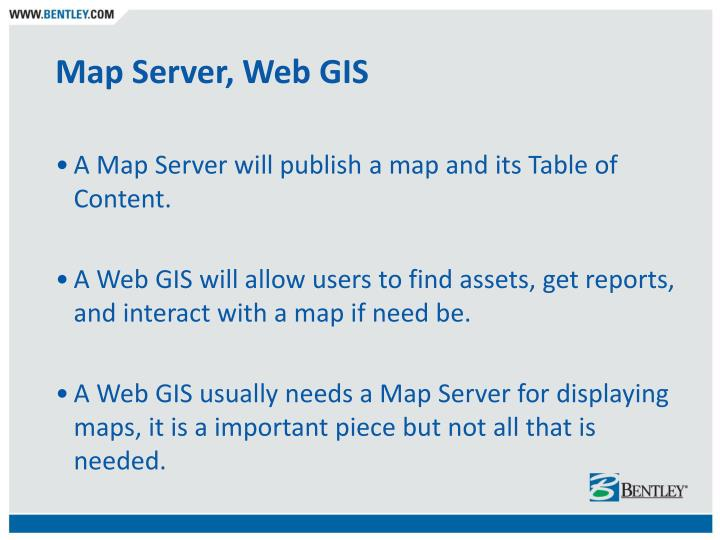 Map Server, Web GIS