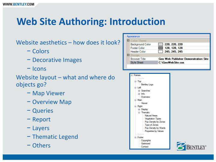 Web Site Authoring: Introduction