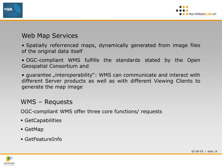 Web Map Services