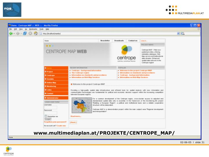 www.multimediaplan.at/PROJEKTE/CENTROPE_MAP/