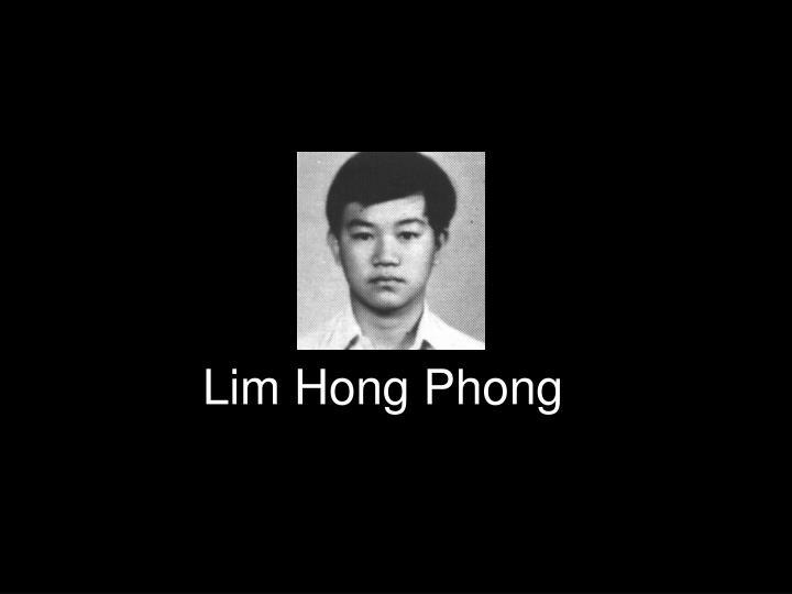 Lim Hong Phong