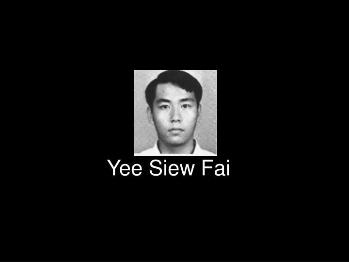 Yee Siew Fai