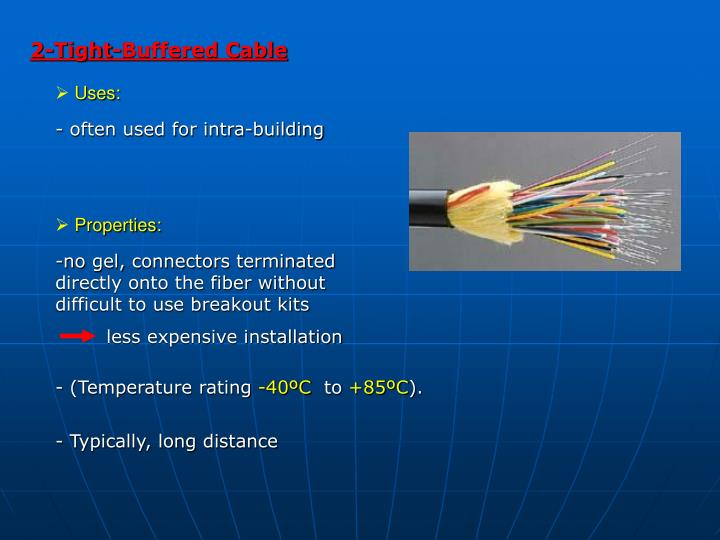 2-Tight-Buffered Cable
