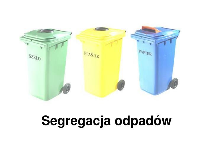 Segregacja odpadw