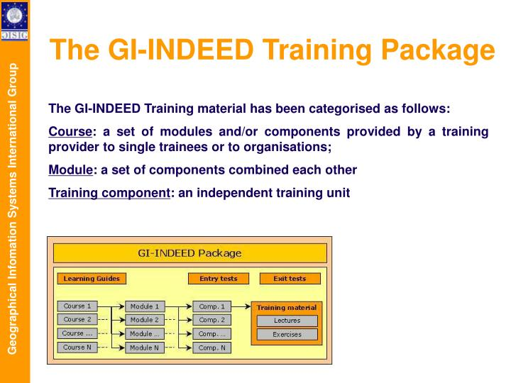 The GI-INDEED Training Package