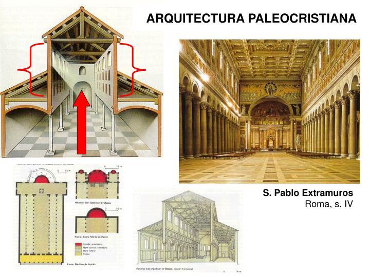 ARQUITECTURA PALEOCRISTIANA