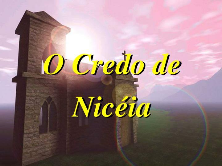 O Credo de Nicia