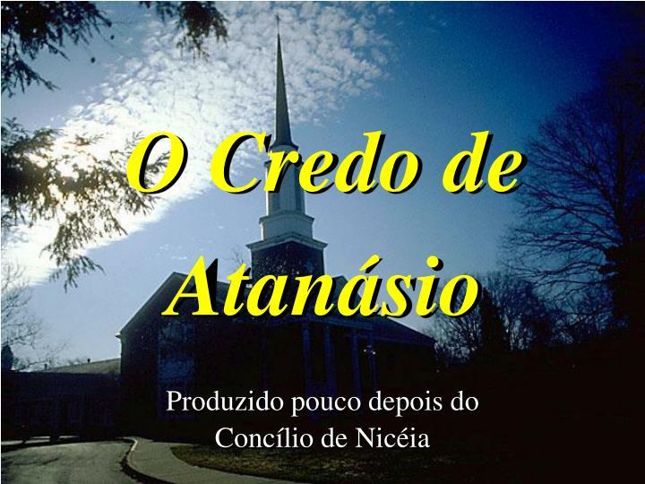 O Credo de Atansio