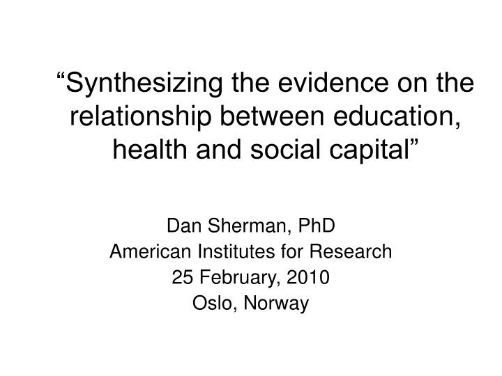 a look at the relationship between social status and health The positive correlation between health and economic status implies that social the relationship between health and and i 6 look at.