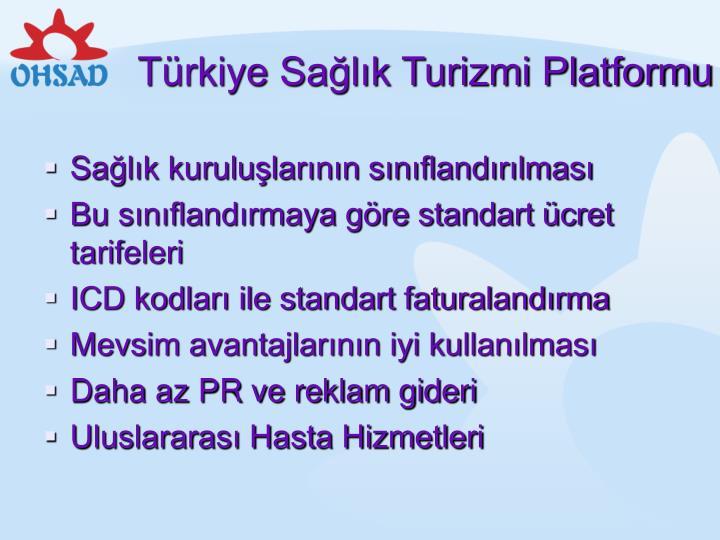 Türkiye Sağlık Turizmi Platformu