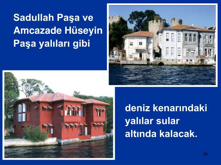 Sadullah Paşa ve