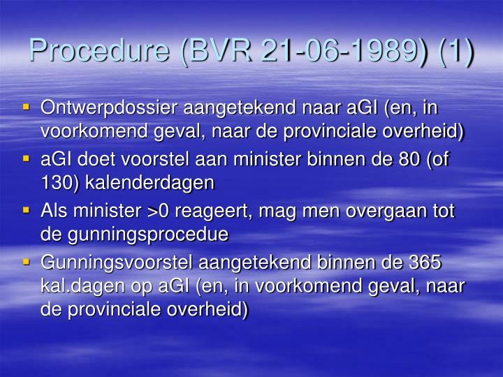 Procedure (BVR 21-06-1989) (1)