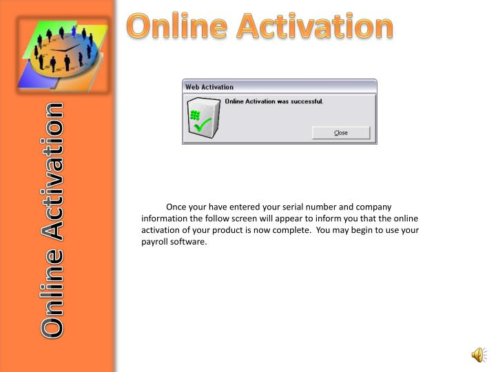 Online Activation