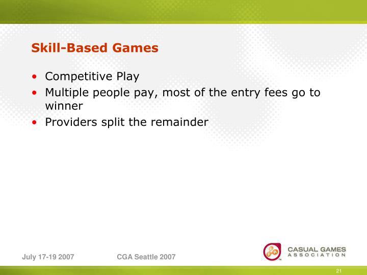 Skill-Based Games