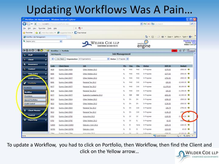 Updating Workflows Was A Pain…