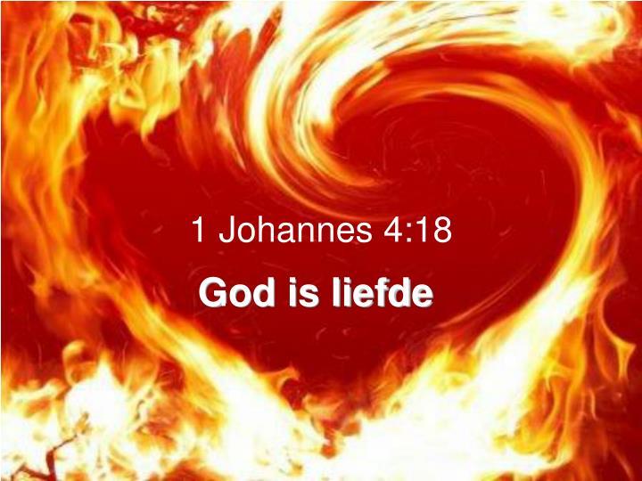1 Johannes 4:18