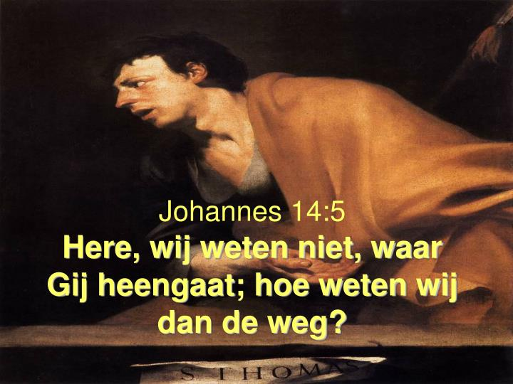 Johannes 14:5