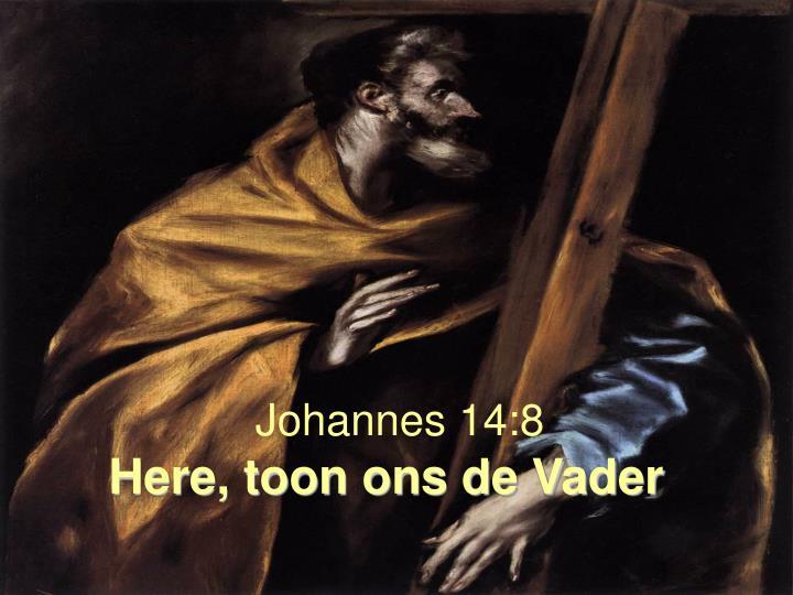 Johannes 14:8