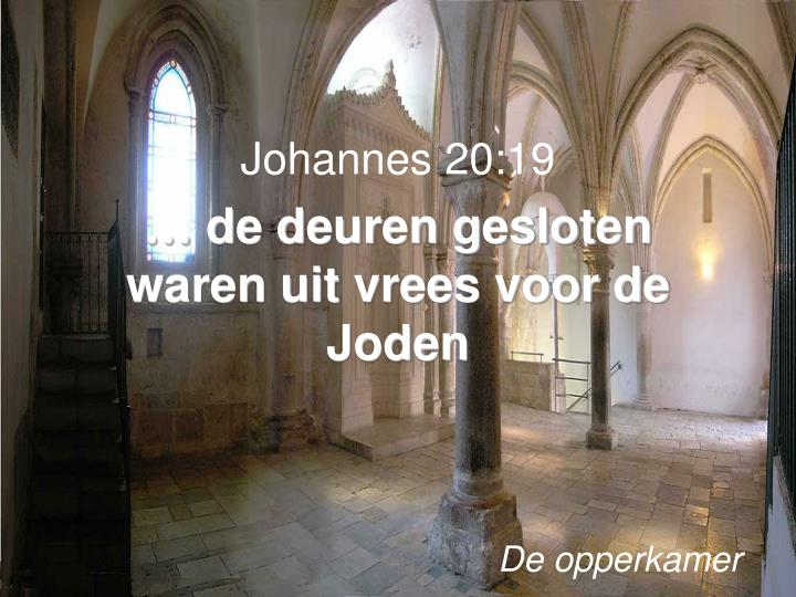 Johannes 20:19
