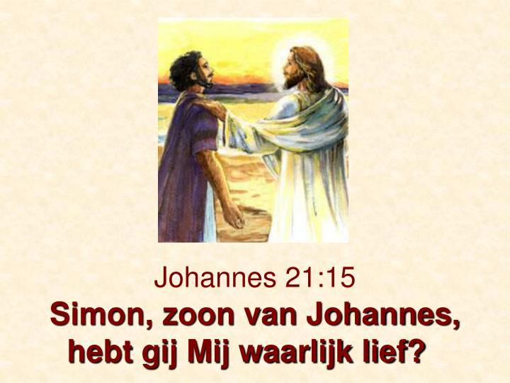 Johannes 21:15